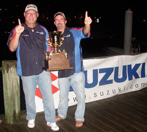 Capt. Will and teammate with 2009 Southern Kingfish Association Yamaha Pro Tour 'Angler of the Year' Title.